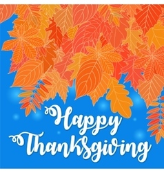 happy thanksgiving day 8 vector image
