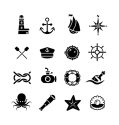 Marine sea nautical pirate maritime vector