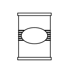 Paint cane tool icon Construction and repair vector