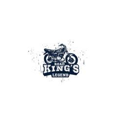 Road kings legend vector