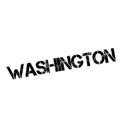 Washington rubber stamp vector
