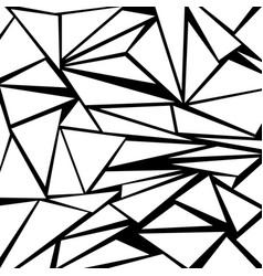 White and black geometric background with vector