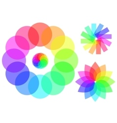 Graphic palette vector image