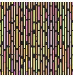 Hipster broken lines seamless pattern stylish pop vector image vector image