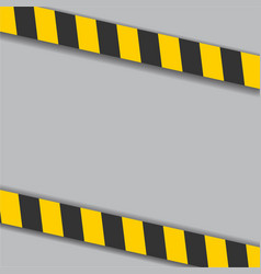 Industrial danger lines on white background vector