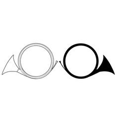 Horns vector