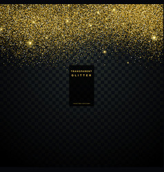 Gold glitter texture background confetti explosion vector