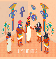 isometric egypt vector image