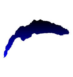 Map of lake geneva vector