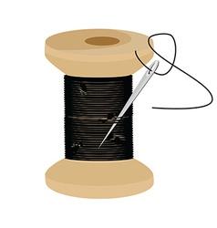 Thread spool vector image