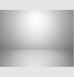 White studio background empty gray room blank vector