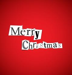 Merry Christmas - vector image
