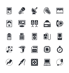Electronics Icons 3 vector image