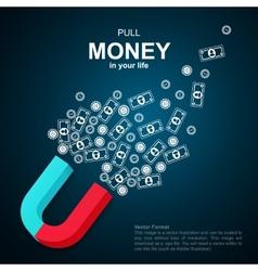 Financial background vector