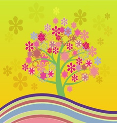 blossom Cherry Tree vector image