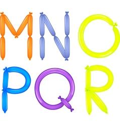 Colorful alphabet vector