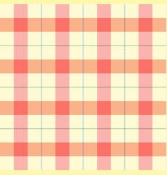 easter tartan plaid pattern scottish cage vector image