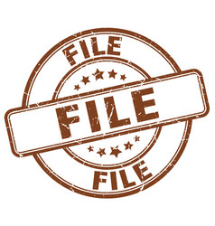 File stamp vector