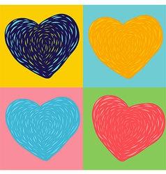 Heart Imagine vector
