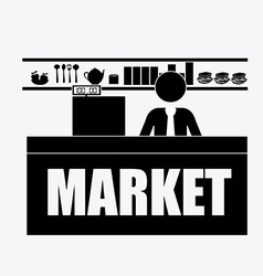 Market vector image