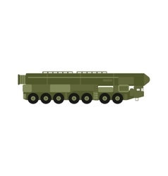 Military rocket launcher vector