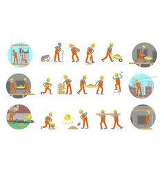 Set of builders vector