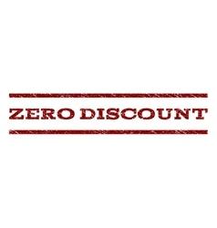 Zero Discount Watermark Stamp vector