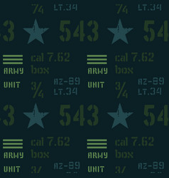 army unit abstract military pattern vector image
