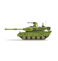 military tank heavy equipment armored corps a vector image
