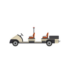 tow truck isolated icon vector image vector image