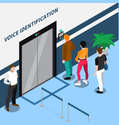 Access identification isometric composition vector