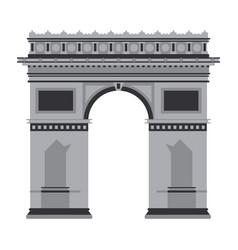 arch of triumph vector image