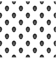 Goalkeeper mask pattern vector