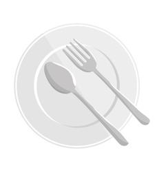 Healthy food menu isolated icon vector