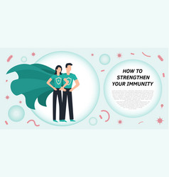 Immune system icon logo health bacteria vector