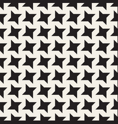 star line shapes grid seamless black and vector image vector image