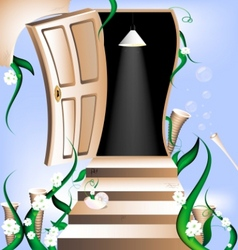 Way to heaven vector