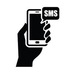 smart phonel icon vector image vector image