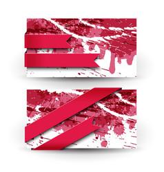 vine paints banner set vector image