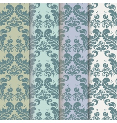 Vintage Royal Classic pattern set vector image vector image