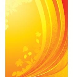 yellow back vector image vector image