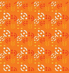 abstract geometric signs seamless pattern vector image