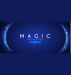 Abstract shining background elegant magic space vector