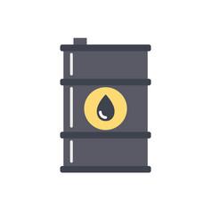 Barrel oil icon vector