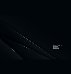 black abstract corporate background digital vector image