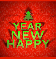 New year congratulate festive template vector