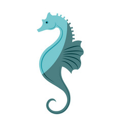 Sea horse icon vector