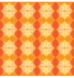 Squares pattern warm background vector