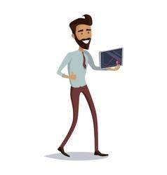 Business Progress Success Concept vector image vector image