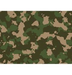 Seamless woodland camo pattern vector image